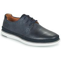 Cipők Férfi Oxford cipők Clarks BRATTON LACE Kék