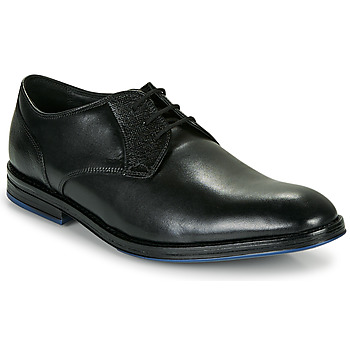 Cipők Férfi Oxford cipők Clarks CITISTRIDELACE Fekete