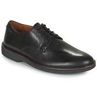 Cipők Férfi Oxford cipők Clarks MALWOOD PLAIN Fekete