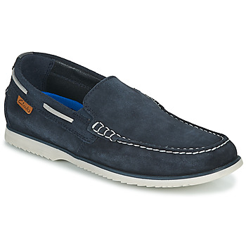 Cipők Férfi Vitorlás cipők Clarks NOONAN STEP Kék