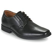 Cipők Férfi Oxford cipők Clarks TILDEN PLAIN Fekete