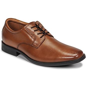 Cipők Férfi Oxford cipők Clarks TILDEN PLAIN Barna