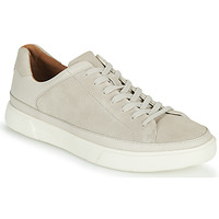 Cipők Férfi Rövid szárú edzőcipők Clarks UN COSTA TIE Fehér