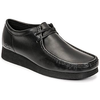 Cipők Férfi Oxford cipők Clarks WALLABEE 2 Fekete