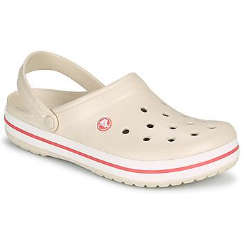 Cipők Női Klumpák Crocs CROCBAND Bézs / Korall