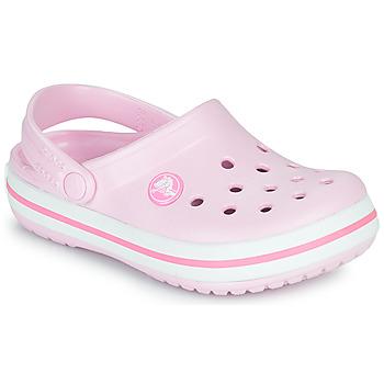 Cipők Lány Klumpák Crocs CROCBAND CLOG K Rózsaszín