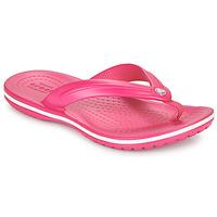 Cipők Gyerek Lábujjközös papucsok Crocs CROCBAND FLIP GS Rózsaszín