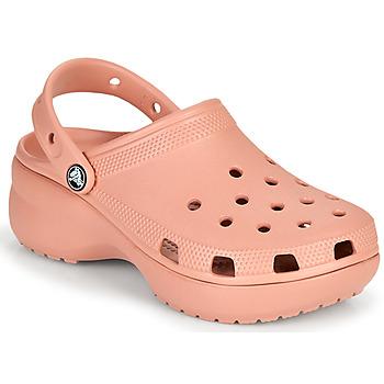 Cipők Női Klumpák Crocs CLASSIC PLATFORM CLOG W Rózsaszín