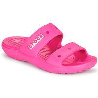 Cipők Női Szandálok / Saruk Crocs CLASSIC CROCS SANDAL Rózsaszín