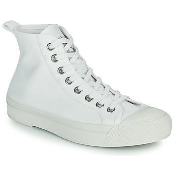 Cipők Női Rövid szárú edzőcipők Bensimon B79 MID Fehér