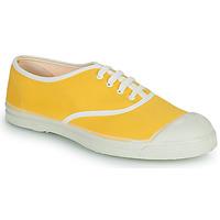 Cipők Női Rövid szárú edzőcipők Bensimon VINTAGE Citromsárga