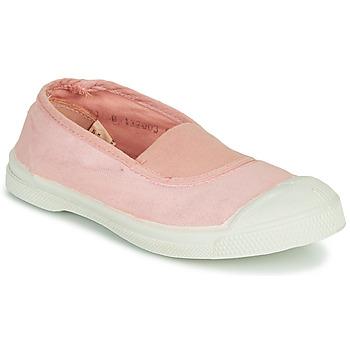 Cipők Lány Rövid szárú edzőcipők Bensimon TENNIS ELASTIQUE Rózsaszín