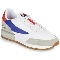 Cipők Férfi Rövid szárú edzőcipők Fila RETRONIQUE Fehér / Kék / Piros