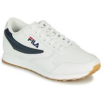 Cipők Férfi Rövid szárú edzőcipők Fila ORBIT LOW Fehér / Kék