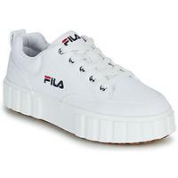Cipők Női Rövid szárú edzőcipők Fila SANDBLAST C WMN Fehér