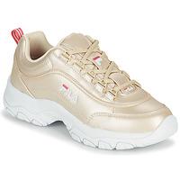 Cipők Női Rövid szárú edzőcipők Fila STRADA F WMN Arany