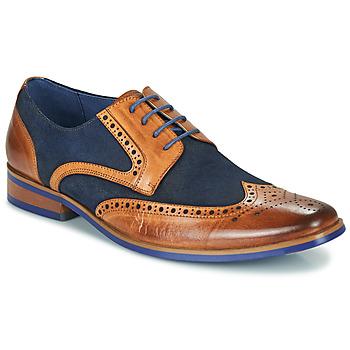 Cipők Férfi Oxford cipők Kdopa MANI Teve / Kék