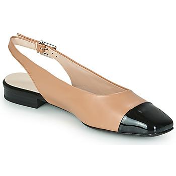 Cipők Női Balerina cipők  Peter Kaiser KILLEEN Bőrszínű / Fekete