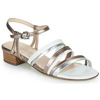 Cipők Női Szandálok / Saruk Peter Kaiser PATIA Bronz / Fehér