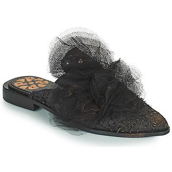 Cipők Női Papucsok Papucei WILLOW Fekete