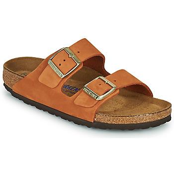 Cipők Női Papucsok Birkenstock ARIZONA SFB Narancssárga