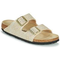 Cipők Női Papucsok Birkenstock ARIZONA Arany / Fehér