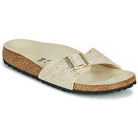 Cipők Női Papucsok Birkenstock MADRID Arany