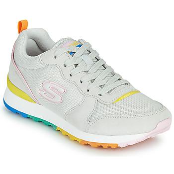 Cipők Női Rövid szárú edzőcipők Skechers OG 85 Fehér / Citromsárga
