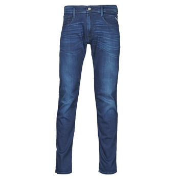 Ruhák Férfi Slim farmerek Replay ANBASS Pants Kék / Átlagos