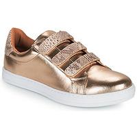 Cipők Női Rövid szárú edzőcipők Moony Mood OCHIC Arany