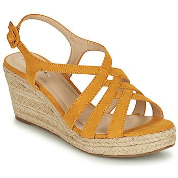 Cipők Női Szandálok / Saruk Moony Mood ONICE Citromsárga
