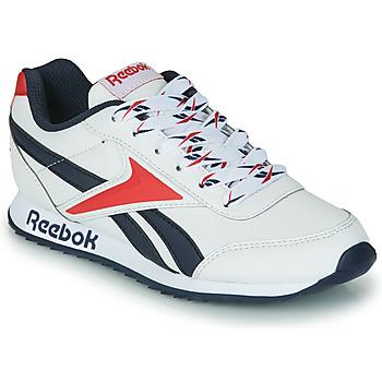 Cipők Gyerek Rövid szárú edzőcipők Reebok Classic REEBOK ROYAL CLJOG 2 Fehér / Tengerész / Piros