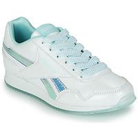 Cipők Lány Rövid szárú edzőcipők Reebok Classic REEBOK ROYAL CLJOG 3.0 Fehér / Kék