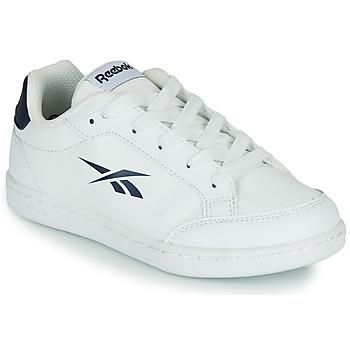 Cipők Gyerek Rövid szárú edzőcipők Reebok Classic REEBOK ROYAL VECTOR SMASH Fehér / Kék