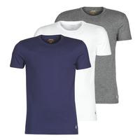 Ruhák Férfi Rövid ujjú pólók Polo Ralph Lauren SS CREW NECK X3 Tengerész / Szürke / Fehér