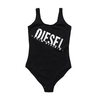Ruhák Lány 1 részes fürdőruhák Diesel MIELL Fekete