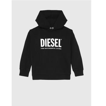 Ruhák Gyerek Pulóverek Diesel SDIVISION LOGO Fekete