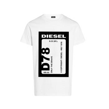 Ruhák Fiú Rövid ujjú pólók Diesel TFULL78 Fehér