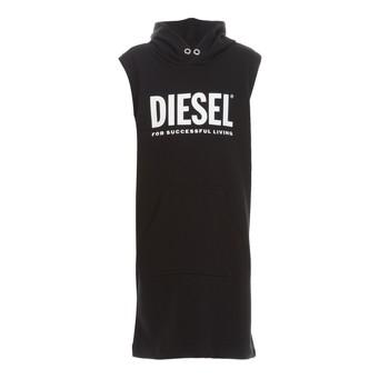 Ruhák Lány Rövid ruhák Diesel DILSET Fekete