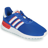 Cipők Gyerek Rövid szárú edzőcipők adidas Originals LA TRAINER LITE J Kék / Fehér