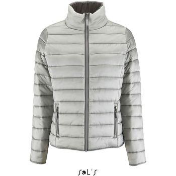 Ruhák Női Steppelt kabátok Sol's Doudoune femme  Ride gris métallique