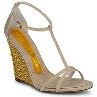 Cipők Női Szandálok / Saruk Magrit JOAQUINA Bézs / Arany