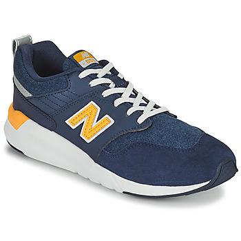 Cipők Fiú Rövid szárú edzőcipők New Balance YS009 Kék