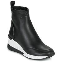 Cipők Női Magas szárú edzőcipők MICHAEL Michael Kors KINSEY Fekete