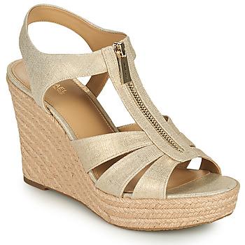 Cipők Női Szandálok / Saruk MICHAEL Michael Kors BERKLEY WEDGE Arany