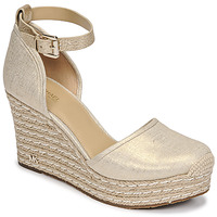 Cipők Női Szandálok / Saruk MICHAEL Michael Kors KENDRICK WEDGE Arany