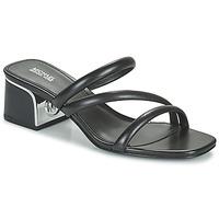 Cipők Női Papucsok MICHAEL Michael Kors LANA MULE Fekete
