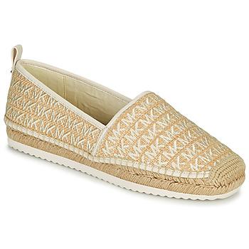Cipők Női Gyékény talpú cipők MICHAEL Michael Kors LENNY ESPADRILLE Bézs