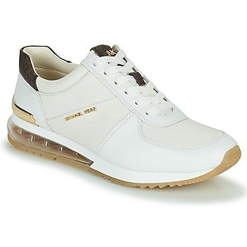 Cipők Női Rövid szárú edzőcipők MICHAEL Michael Kors ALLIE TRAINER EXTREME Krém