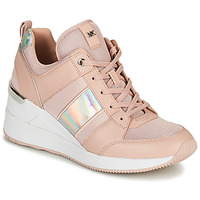 Cipők Női Rövid szárú edzőcipők MICHAEL Michael Kors GEORGIE TRAINER Rózsaszín